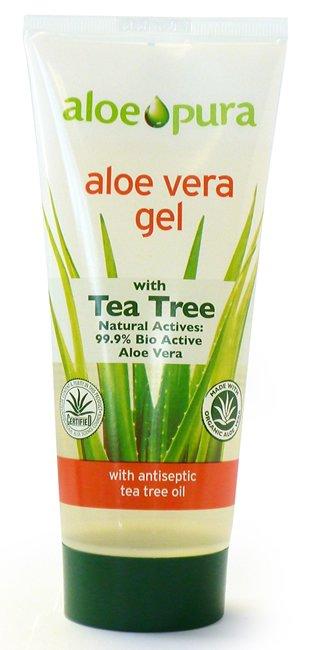 Aloe Pura Aloe Vera Gel with Tea Tree