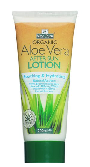 Aloe Pura Organic Aloe Vera After Sun Lotion