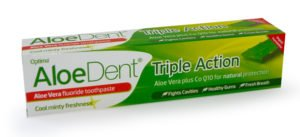 Aloedent Aloe Vera Toothpaste with Fluoride plus CO-Q10 100ml