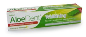 Aloedent Aloe Vera Whitening Toothpaste with Fluoride 100ml