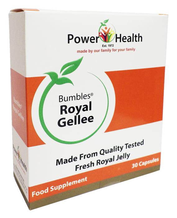 Power Health Bumbles Royal Gellee 500g - 30 capsules