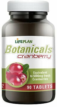 Lifeplan Cranberry Extract 5000mg - 90 tablets