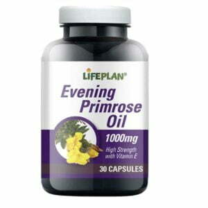 Lifeplan Evening Primrose Oil 1000mg - 30 capsules