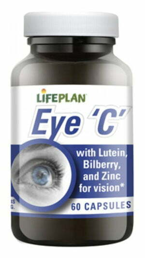 Lifeplan Eye C Formula for Good Eye Health - 60 capsules