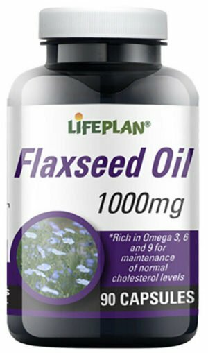 Lifeplan Flaxseed Oil Vegetarian 1000mg - 90 capsules