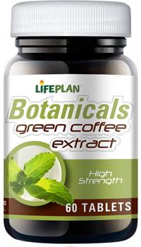 Lifeplan Green Coffee Extract 400mg - 60 Caps