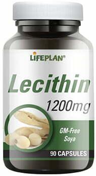 Lifeplan Lecithin 1200mg - 90 caps