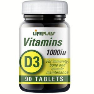 Lifeplan Vitamin D3 1000iu