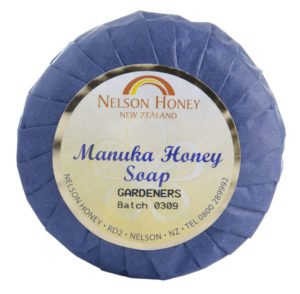 Natural Soap Gardeners with Manuka Honey