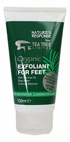 Natures Response Exfoliant for Feet