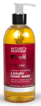 Nature's Response Hand Wash Lemon Scented Tea Tree Manuka Honey 300ml