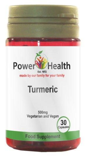 Power Health Turmeric 500mg 30 capsules