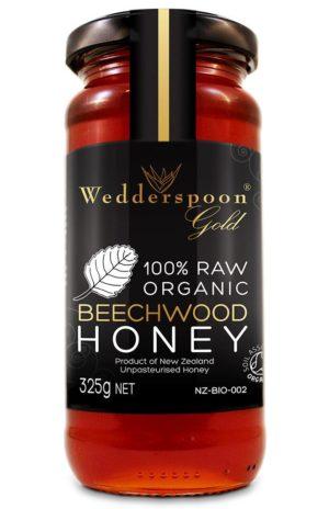 Wedderspoon Gold Organic Beechwood Honey