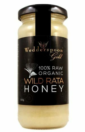 Wedderspoon Gold Organic Rata Honey - 325g