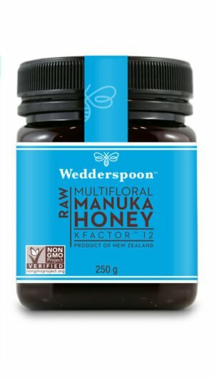 Wedderspoon RAW Manuka Honey KFactor 12+ 250g