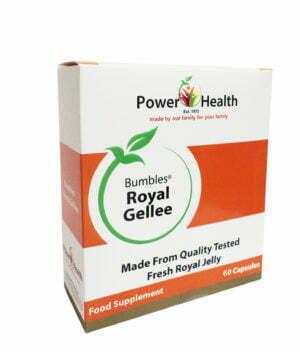 Power Health Bumbles Royal Gellee 500mg - 60 capsules