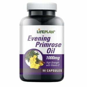 Lifeplan Evening Primrose Oil 1000mg - 90 capsules