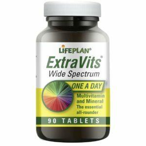 Lifeplan Extravits Multi-Vitamins & Minerals 1000mg - 90 tablets