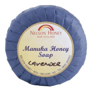 Nelson Natural Soap with Manuka Honey and Lavendar 75g