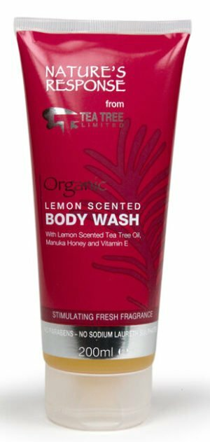 Nature's Response Body Wash Lemon scented