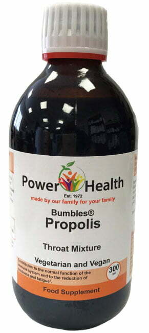 Power Health Propolis Throat Mixture - 300ml bottle