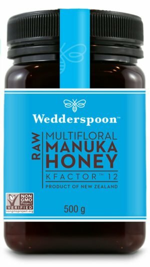 Wedderspoon RAW Manuka Honey KFactor 12+ 500g