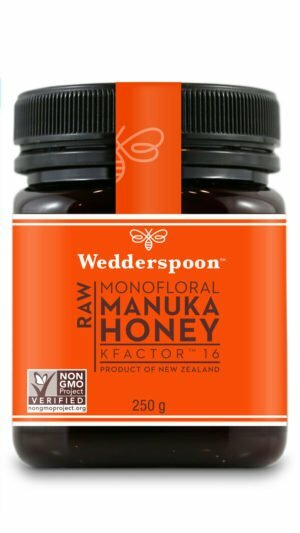 Wedderspoon RAW Manuka Honey KFactor 16+ 250g
