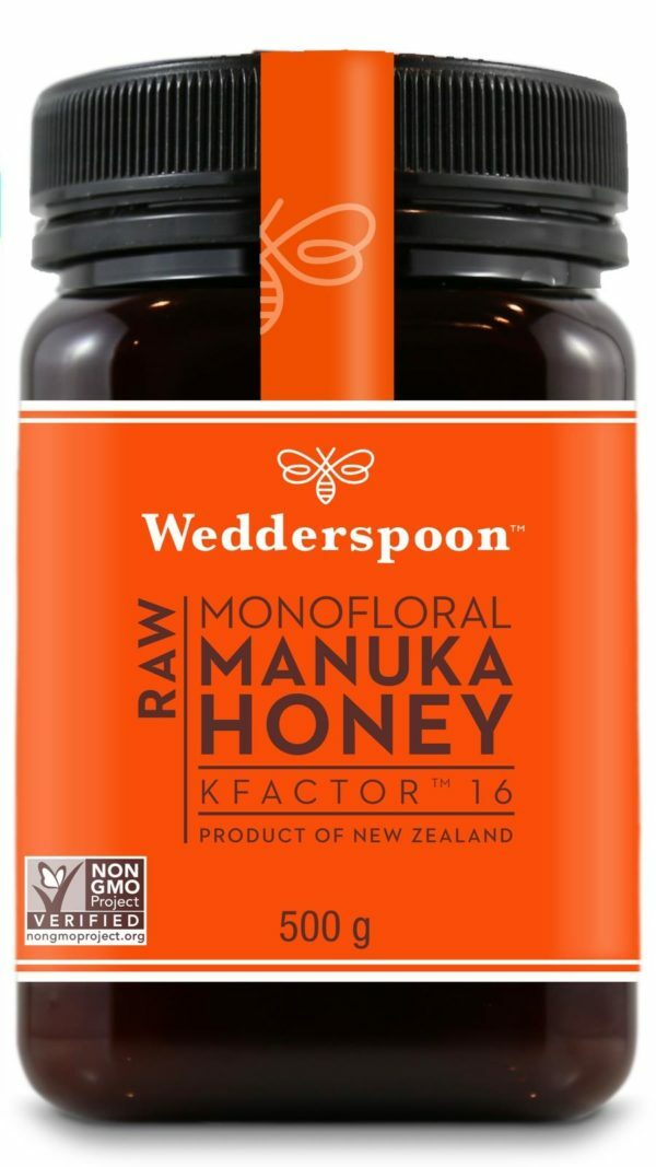 Wedderspoon RAW Manuka Honey KFactor 16+ 500g