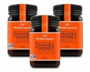 Wedderspoon RAW Manuka Honey KFactor 16 TRIPLE PACK - 3 x 500g
