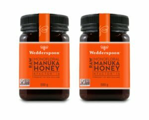 Wedderspoon RAW Manuka Honey KFactor 16+ TWIN PACK- 2 x 500g