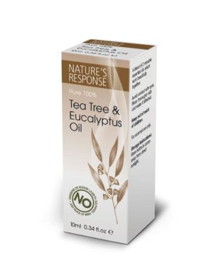 Nature's Response Tea Tree and Eucalyptus Oil - 10ml