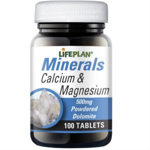 Lifeplan Calcium & Magnesium 500mg - 100 tablets