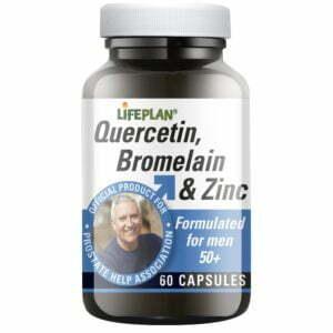 Lifeplan Quercetin Bromelain Zinc