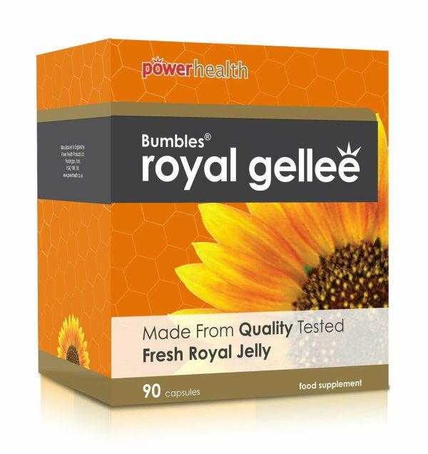 Power Health Bumbles Royal Gellee 500mg - 90 Capsules