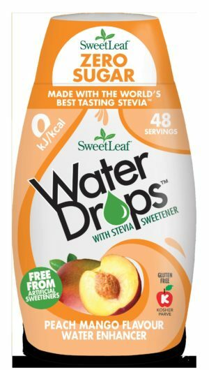 Sweetleaf Water Drops Peach & Mango 48ml