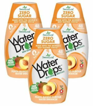 Sweetleaf Water Drops Peach & Mango 48ml TRIPLE PACK