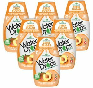 Sweetleaf Water Drops Peach & Mango 48ml SIX PACK