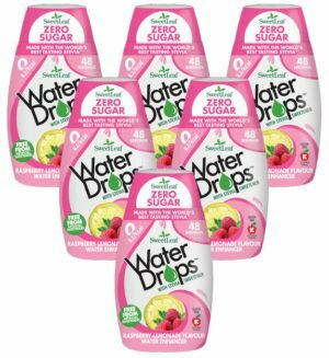 Sweetleaf Water Drops Raspberry Lemonade 48ml SIX PACK
