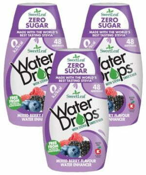 Sweetlef Water Drops Mixed Berry 48ml TRIPLE PACK