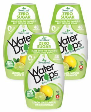 Sweetleaf Water Drops Lemon & Lime 48ml TRIPLE PACK