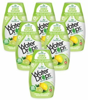 Sweetleaf Water Drops Lemon & Lime 48ml SIX PACK