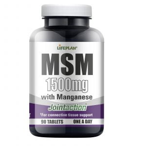 Lifeplan Joint Action MSM with Manganese 1500mg