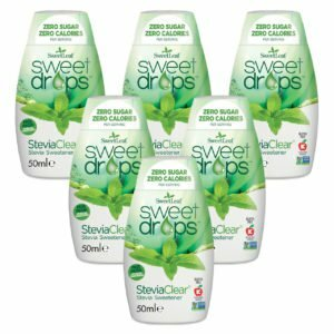 Sweetleaf Stevia Sweet Drops Clear - 6 x 50ml SIX PACK