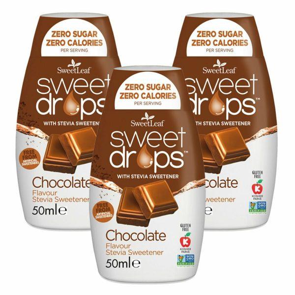 Sweetleaf Sweet Drops Chocolate 50ml TRIPLE PACK