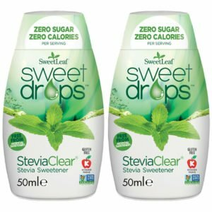 Sweetleaf Stevia Sweet Drops Clear - 2 x 50ml TWIN PACK