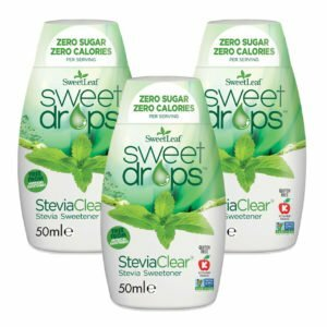 Sweetleaf Stevia Sweet Drops Clear - 3 x 50ml TRIPLE PACK