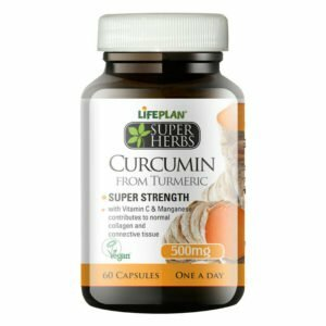 Lifeplan Super Herbs Curcumin from Turmeric 500mg