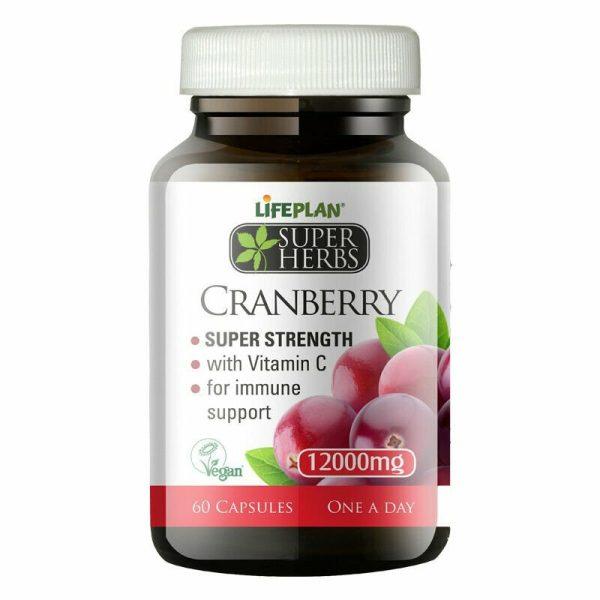 Lifeplan Super Herbs Cranberry 12000mg