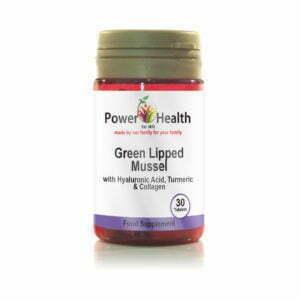 Power Health Green Lipped Mussel with Hyaluronic Acid
