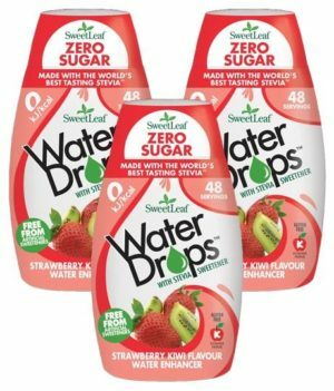 Sweetleaf Water Drops Strawberry & Kiwi 48ml Triple Pack